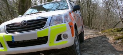 Professional Off-Road Driver Training Cumbria and the North West.