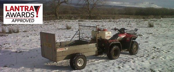 Quad  Bike Courses and ATV Training Cumbria